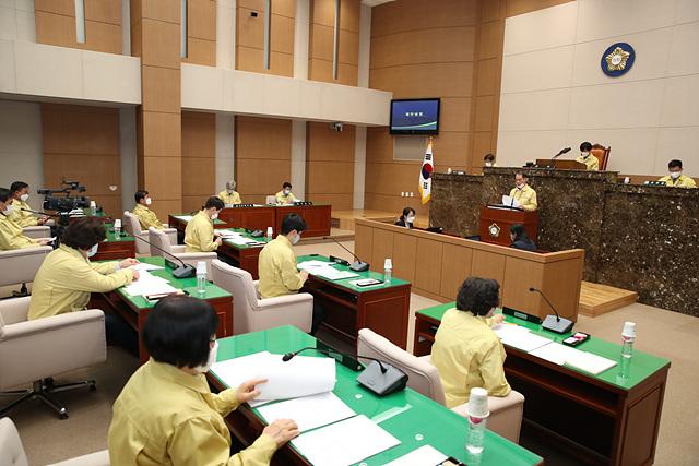 이천시의회 재난기본소득 지급을 위한 긴급 임시회 개회.jpg
